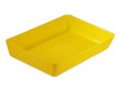 BAC LURAN JAUNE MINI-BORDURE 420X280X70 ABS