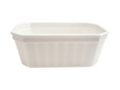 Terrine rectangle Toquière PPH blanche 290ml 125x85x42mm cart. de 544
